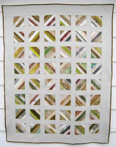 Another quilt with white.  Lap Quilt Sofa Throw Blanket Toddler Quilt  by SonyaBensonQuilts, $180.00
