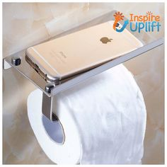 Made of stainless steel, this tissue paper holder contains a shelf to hold your mobile and other small items. E Waste Recycling, Toilet Paper Dispenser, Old Egypt, Moving Tips, Bathroom Inspo, Tissue Holders, Xmas Gifts, Kitchen And Bath, Household