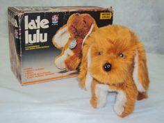 Brinquedo Antigo, Cachorrinho Late Lulu Da Estrela. - R$ 180,00 no MercadoLivre