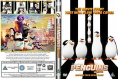 Penguins Of Madagascar 2014  DVD Front Cover
