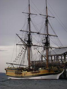 Tall Ship-Port Townsend, WA