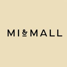 Sans-serif logotype by Atipo for online fashion retailer Mi&Mall.