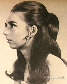 Marvelous Hairstyle For Long Hair Updo And 1960S On Pinterest Short Hairstyles Gunalazisus