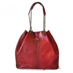 05f35363fe Cherry cute! leather tote bag by ratesi. Made in Italy. Vera Pelle