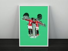Pogba & Lingard Dab Celebration Manchester United Poster | Etsy Manchester United Poster, Thé Illustration, Pogba, Jesse Lingard, Green Backgrounds, Two By Two, Survival, The Unit, Etsy