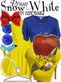 Snow White Prom by DisneyBound.