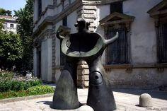 Joan Miró, Progetto per un monumento, Milano