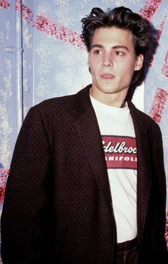 Johnny Depp - Attending a promotional event for 21 Jump Street (1987)