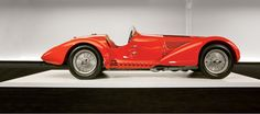 1938 Alfa Romeo Mille Miglia Spyder from Ralph Lauren's collection.
