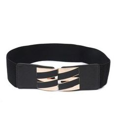 Blue Stones Women Belt Ring Black Metal Waist Belt Luxury Brand Leather Hollow Rivets Feminine Strap cinturon Long Dress Belt Men