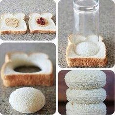 Pin by Sabrina Luithlen on Drachenfutter Cute Food, Good Food, Yummy Food, Healthy Food, Tee Sandwiches, Tea Party Sandwiches, Freezer Sandwiches, Finger Sandwiches, Food Decoration