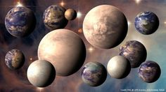 100 billion alien planets fill our galaxy - a staggering number, if you think about it.