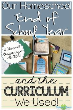 """The End of Our Homeschool Year & The Curriculum We Used by Raising Clovers - Probably one of the number one questions I get asked as a homeschool mom is, """"What curriculum do you use?"""" I FINALLY answer that questions & show you how I close out our homeschool school year. Enjoy this post…& the video at the end that takes you through our school room & material! http://www.raisingclovers.com/2015/05/28/the-end-of-our-school-year-curriculum-we-used/"""