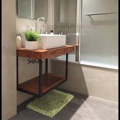 Small Toilet Room, Small Bathroom, Custom Furniture, Modern Furniture, Ideas Baños, Internal Design, Modern Baths, Construction Design, Bathroom Layout