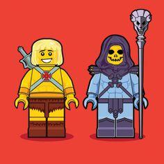 Dan Shearn - Lego MOTU