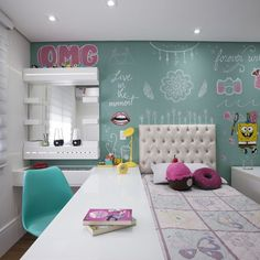 Stylish And Chic Kids Room Decorating Ideas 07 Girl Room, Girls Bedroom, Bedroom Decor, Bedrooms, Dream Rooms, New Room, Decoration, Interior Design, Home Decor