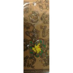 Pokemon Center 2014 Pikachu Metal Keychain Version #12