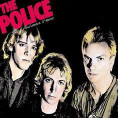 The Police, Outlandos d'Amour, debut album Rock Album Covers, Classic Album Covers, Music Album Covers, Music Albums, Music Music, Lp Album, Debut Album, Lps, Beatles