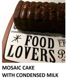 MOSAIC CAKE WITH CONDENSED MILK