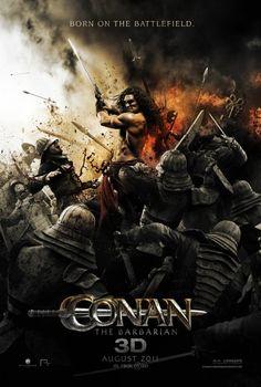 Conan the Barbarian remake movie poster