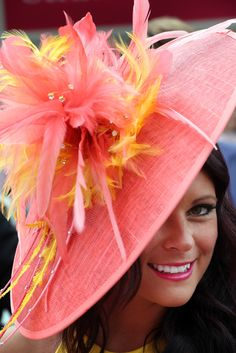 The Flamingo Drag Queen Hat. @QueerFMRadioNet Best & WORST of Royal Ascot Hats for the Jubilee! Which is YOUR Fave?