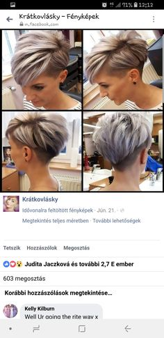 Excellent Free of Charge Straight Hairstyle for work Popular The actual branded really even ceramic dishes for hair straightner ceramic straightening irons devel Short Grey Hair, Short Hair With Layers, Short Hair Cuts For Women, Straight Hairstyles, Cool Hairstyles, Short Hair Undercut, Bad Hair, Pixie Haircut, Hair Dos