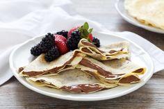 Crepes con il Bimby Crepes, Biscotti, Ale, Pancakes, Dessert, Breakfast, Ethnic Recipes, Food, Morning Coffee