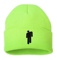 Billie Eilish Beanie NEW 2020 stickman Women Men knit cap hat Unisex Beanies - Billie Eilish Beanie stickman 2019 Women Men knit cap hat NEW 4 COLOR Unisex Cute Beanies, Cute Hats, Billie Eilish Merch, Trendy Outfits, Cute Outfits, Beanie Hats, Aesthetic Clothes, Ideias Fashion, Knitted Hats
