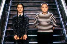 As Wednesday Addams in The Addams Family. Adams Family Halloween, Adams Family Costume, The Addams Family, Movie Couples Costumes, Family Costumes, Regina George, Last Minute Halloween Costumes, Halloween Kostüm, Halloween Customs