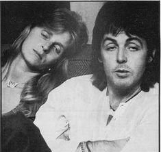 Paul and Linda My Love Paul Mccartney, Paul Mccartney And Wings, Sir Paul, John Paul, Wings Band, The Fab Four, Great Love, Best Couple, John Lennon