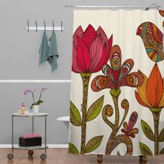 Valentina Ramos In The Garden Shower Curtain   DENY Designs Home Accessories