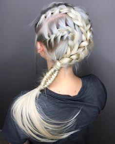 Brillian braided hair