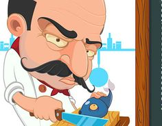 """Check out new work on my @Behance portfolio: """"«Chef» game"""" http://be.net/gallery/43622983/Chef-game"""