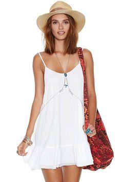 Like It's Hot Dress - Ivory