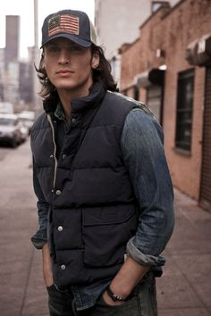 Denim & Supply Ralph Lauren Fall 2012. Hotness comes in so many flavors.