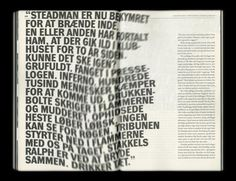"Layout for the ""Lettre Internationale No 20"" - Typography Daily"