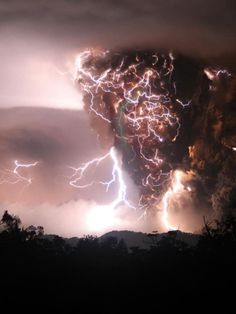 The winds kick up and Just outside the city an electrical tornado ran rampant . The Nuclear boom messed the weather up .