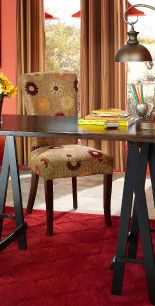 have this saw horse desk, would love to accessorize it more <3