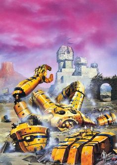 Chris Foss - Even robots die