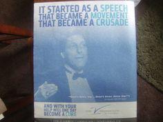 Jimmy Valvano's 1993 Espy Speech Magazine Advertisement