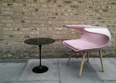 #Stouby #Frost chair in pink Canvas