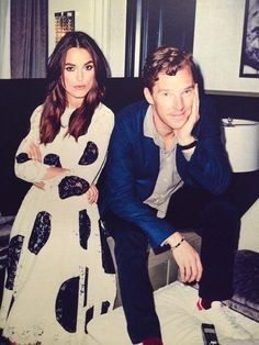 Keira and Benedict!