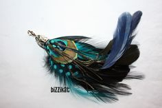 Peacock Boutonniere #Homecoming
