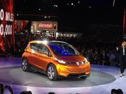 General Motors on Monday showed off what direction its alternative fuel vehicle are headed in, unveiling the production model 2016 Chevrolet Volt and the Chevrolet Bolt EV concept at the 2015 North American International Auto Show in Detroit.