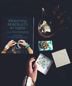Beautiful Bracelets by Hand Justina Blakeney, Diy Clothes, Hands, Reading, Bracelets, Beautiful, Diy Clothing, Reading Books, Bracelet