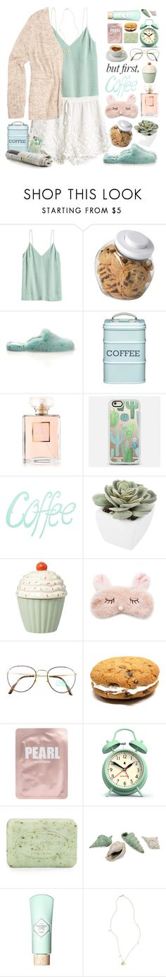 """But first, coffee"" by doga1 ❤ liked on Polyvore featuring H&M, Oysho, OXO, Natasha Zinko, Kitchen Craft, Chanel, Casetify, Abigail Ahern, Forever 21 and Benetton"