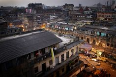 """Michael McElroy. """"Calcutta is one of the most congested cities in the country."""""""