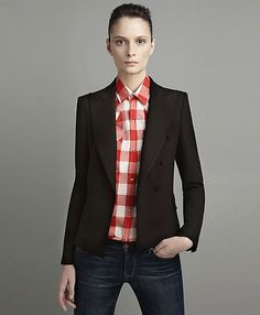 first fall 2011 look I buy. Love the androgyny of this look.