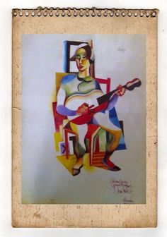Almada Negreiros, portuguese painter, sec XXI
