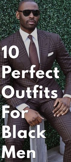 So, you are tall and dark and worried about being handsome? Well leave it to us. Check out these amazing outfits for black men.